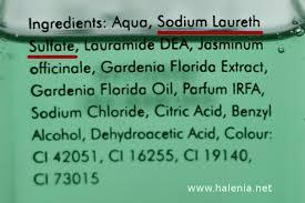 shoo ings list sodium laureth sulfate