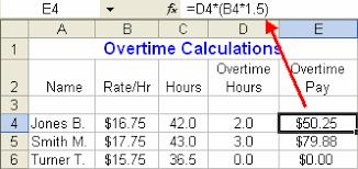 Excel Overtime Formula Get Started Using Formulas In Excel Microsoft Excel