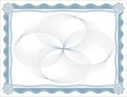 Blank Voucher Template Blank Certificate Template