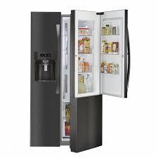 kenmore elite side by side refrigerator. kenmore elite 51867 counter-depth side-by-side refrigerator w/ grab- side by 5