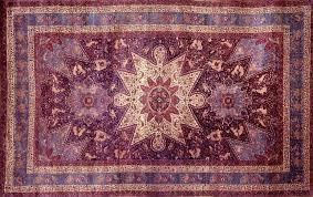 purple oriental rug