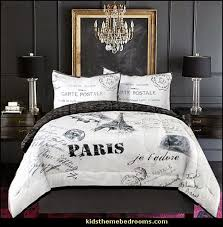 Elegant Black And White Paris Bedroom Decor Black And White Paris Bedroom Decor  Amazing D On Black