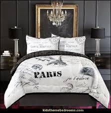 Elegant Black And White Paris Bedroom Decor Black And White Paris Bedroom Decor  Amazing D On Black