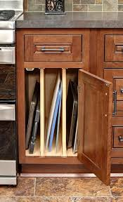 kitchen storage cabinets ideas. cliqstudios\u0027 tray base cabinet is the perfect solution for storage of cookie sheets, baking kitchen cabinets ideas d