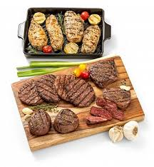 gourmet grilling gift gourmet gift baskets your favorite grill master will adore this all inclusive gift of gourmet steaks en and burgers