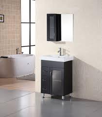 24 Inch Sink Cabinet Milan 24 Single Sink Vanity Set In Espresso Design Element