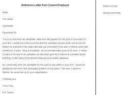 Personal Reference Letter Samples Free Reference Letter Sample
