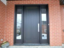 glass panels for front doors awesome wooden front door with glass panels in stylish home design planning with wooden front black front door with glass side