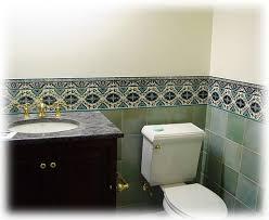 Decorative Bathroom Tile Bathroom Tile Design Ideas Tile Murals Balian Tile Studio