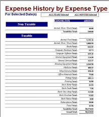 Sample Expense Report Document And Examples Of Excel Expense Reports ...