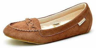 Bearpaw BAILEE Brown <b>Flats Slippers Shoes Women's</b> 11 - NEW ...