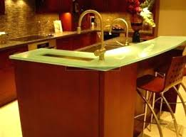 recycled glass countertops pros and cons cozy kitchen glass kitchen tops frosted glass quartz s colors