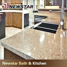 low cost kitchen countertop options brown prefab quartz s blue