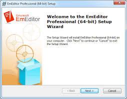EmEditor Manual