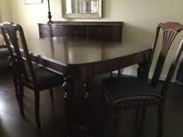 beautiful antique 9 piece dining room set