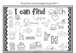 Games and activities to help your students develop the fundamental skills of blending, segmenting and. Phonics H Sound Worksheet
