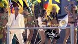Image result for دانلود موزیک ویدیو We Are One با صدای Pitbull و Jennifer Lopez و Claudia Leitte