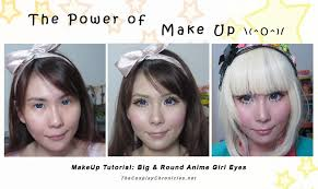 big eye anime makeup by elpheal on deviantart