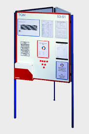 Free Standing Display Board Eurocharts Visualisation Ferromagnetic Boards and Free Standing 71