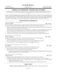 Mortgage Loan Officer Resume Sidemcicek Com