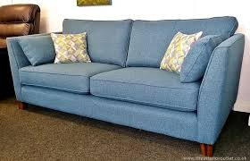 fabric sofas blue. Delighful Blue Brilliant Blue Fabric Sofa Only 899 Beautiful Quality Teal Martina 3  Seater To Sofas S