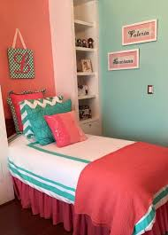Coral And Turquoise Bedroom Ideas