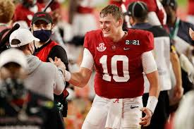 The san francisco 49ers are currently listed as the team to select the no. Patriots Take Alabama Qb Mac Jones At 15th Pick The New York Times
