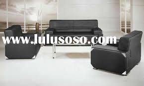 2010 hot sale black leather office sofa set design op 581 black sofa set office