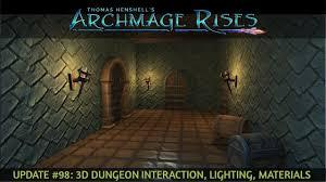 Dungeon Lighting Update 98 3d Dungeon Interaction Lighting Materials