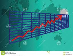 3d Stock Chart 3d Stock Chart Stock Vector Illustration Of World Finance
