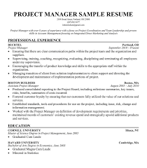 best project management resume samples free   best sample resumes     best project management resume samples free