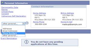 Myotr Update Your Contact Information