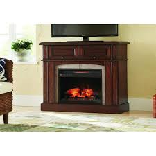 this review is from bellevue park 42 in mantel console infrared electric fireplace in dark brown cherry finish