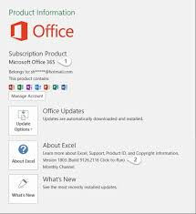 Windows 365 Office About Office What Version Of Office Am I Using Office