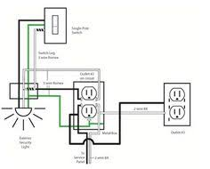 wiring a switched outlet wiring diagram www electrical online electrical wiring diagrams book image result for outlet home diagram � garage workshophamelectrical wiring