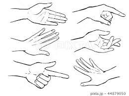 手を握るのイラスト素材 Pixta