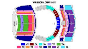 War Memorial Opera House Seating Chart Ticketingbox Shen Yun 2020 San Francisco Shen Yun Tickets