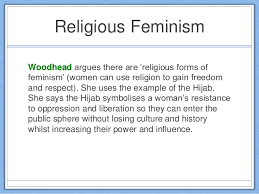 theories of religion religious feminism