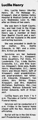 Lucille Edwards Henry - Newspapers.com