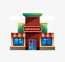 restaurants clipart. Contemporary Restaurants Restaurants Flat Building Building Clipart Restaurant PNG Image  And Clipart Throughout Restaurants