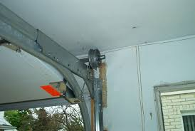 low headroom garage doors with double tracks dan39s low clearance garage door hardware