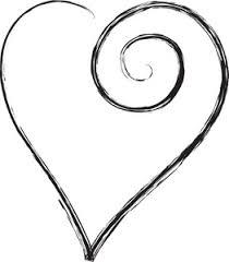 Scroll Heart Scroll Heart Clipart Clip Art Library