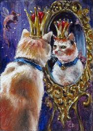 funny cat fairy tale painting techniques daniel c chiriac fine art oil painting sd painting