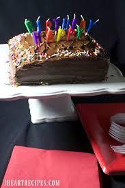 Cake Ideas Simple Simple Birthday Cake I Heart Recipes Wantslco