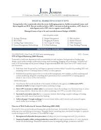 Sample Of 18 Marketing Executive Resume Must Check It Www