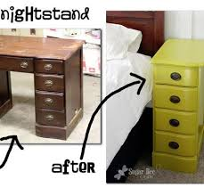 diy repurposed furniture. nightstands from a desk furniture redorepurposed diy repurposed b