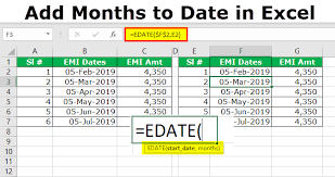 Excel Chart Count By Month Add Months To Date In Excel Step By Step Guide With Top 6