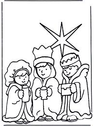 De Drie Wijzen 2 Bijbelkleurplaten Kerst