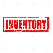Word Inventory Grunge Rubber Stamp With Word Inventory Vector Illustration