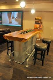Great basement / game room beverage bar. The Bella Noelle model. Builder:  www